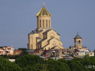 Tbilisi, katedrála Nejsvětější trojice
