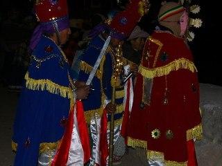 Slavnosti ve vesnici Cabanaconde