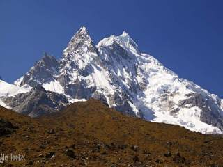 Trek na Machu Picchu, vrchol Salkantay 6271 m