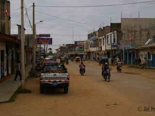Ulice v Puerto Maldonado