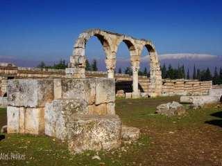 Zbytky starého města Umayyad