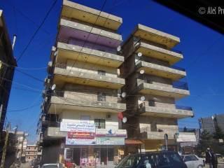 Město Zahlé (foceno z auta)