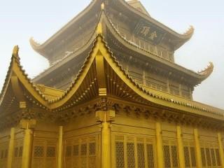 Zlatý chrám, Golden Summit, pohoří Emei Shan