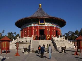 Peking  Císařská nebeská klenba