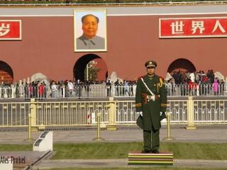 Peking, náměstí Nebeského klidu