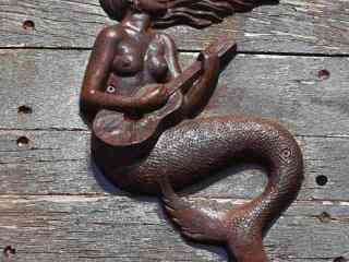 Mořská pana na karavele na poloostrově Magdaléna