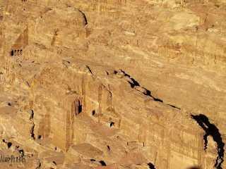 Petra, pohled z vyhlídky Al-Madbah