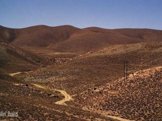 Krajina v okolí Esfahánu