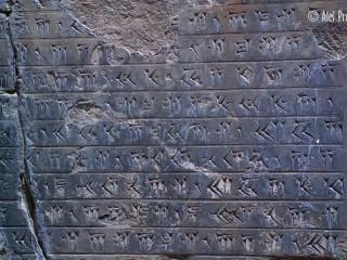 Klínové písmo, Persepolis