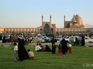 Esfahán, mešita Imáma Chomejního na náměstí Naghsh-i Jahan