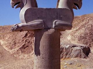 Perseopolis, Pták Homa (Achaemenid griffin)