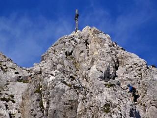 Vrchol Seegrubenspitze (2435 m), Tyrolsko
