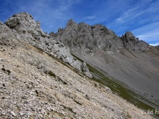 Pfaiserspitze (2345 m), Nordkette, Tyrolsko