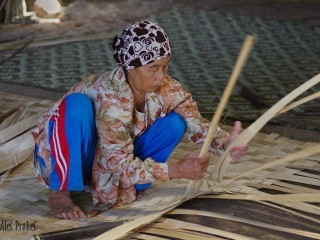 Výroba bambusových rohoží, Ciwidey