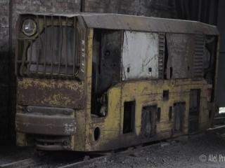 Dolní Vítkovice, lokomotiva z dolu Hlubina
