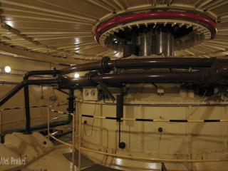 Hřídel generátoru v elektrárně Gabčíkovo