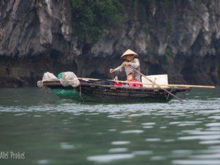 Obyvatelé zátoky Ha Long