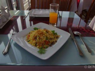 Snídaně v hotelu Morning Star