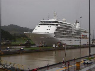 Panamský průplav, zdymadlo Miraflore