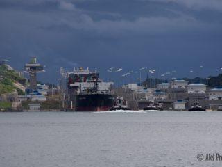 Panamský průplav, zdymadla Gatun