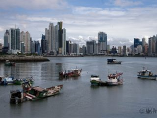 Moderní část hlavního města Panama