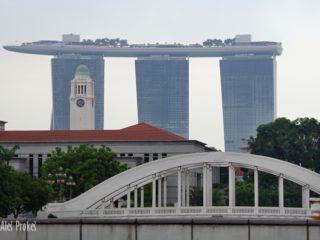 Singapur pohled na Marina Bay Sands