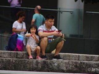 Singapur nábřeží u Alexandra Canal