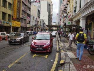Ulice v Kuala Lumpuru