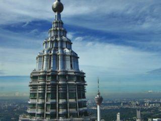 Věž Petronas Twin Tower, Kuala Lumpur