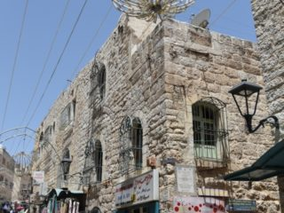 Uličky v Betlémě