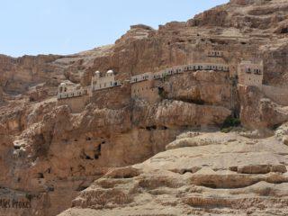Klášter na hoře pokušení, Jericho, západní břeh Jordánu