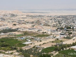 Jericho, západní břeh Jordánu