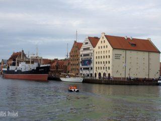Národní námořní muzeum v Gdaňsku.