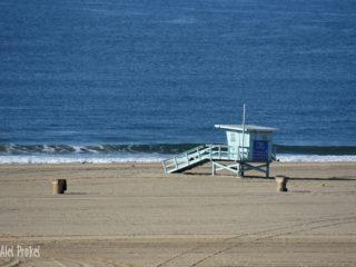Pláže v Santa Monice (místo natáčení Pobřežní hlídky/Baywatch)